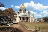 Saint Isaac's Cathedral in St. Petersburg, Russia — Stock Photo