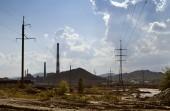 Industrial landscape — Stock Photo