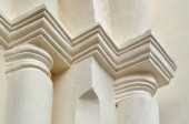 Architectural elements of St. Sophia Cathedral in Veliky Novgorod — Stock Photo