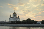The Cathedral of Christ the Saviour in Moscow, Russia — Stock Photo