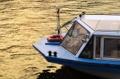 River boat on Moscow River — Stock Photo