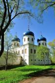 Church of Exhaltation of the Cross, Yuriev Monastery — Stock Photo