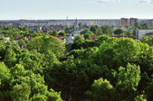 View of the Veliky Novgorod from a height — Stock Photo