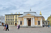 Boat house of Peter the Great at the Peter and Paul fortress in Saint-Petersburg, Russia — Stock Photo