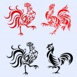Rooster ornament — Stock Vector #53864567