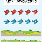 Love bird animation — Stock Vector #67446487