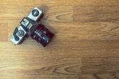 老相机 — 图库照片