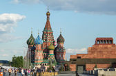 Moscou, Praça Vermelha — Fotografia Stock
