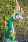 Dragon sculpture. — Stock Photo