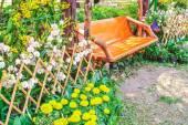 Beautiful flower garden. — Stock Photo