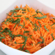 Salad from carrot — Stock Photo #52675945