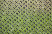 Wire fence close up — Stock Photo