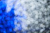 Abstract blue and white lights background — Stock Photo