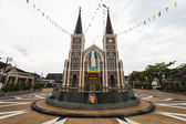 Roman Catholic Diocese or Cathedral of the Immaculate Conception, Chanthaburi, Thailand. — Stock Photo