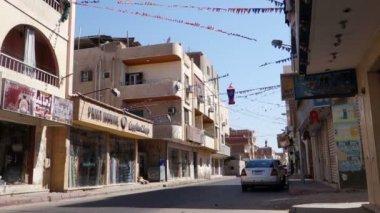 Hurghada streets — Stock Video