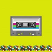 Retro Tape background — Stockfoto