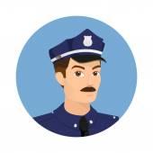 Policeman icon — Stock Vector