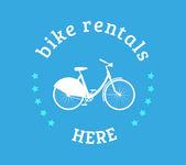 Bike rental icon — Stock Vector