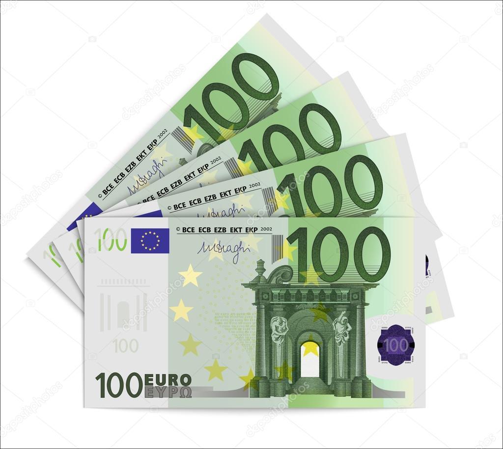 Billetes de 100 euros archivo im genes vectoriales for Wohnlandschaft 100 euro