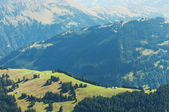 Beautiful view of the Alps in the summer — Foto Stock