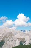 Tyrolean Alps near the peak Hafelekar in Innsbruck , Austria — Stock Photo