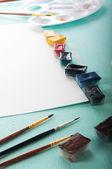 Items voor tekening — Stockfoto