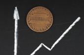 US dollar exchange rate on international stock exchanges. — Stock Photo