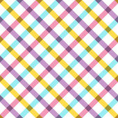 Colorful plaid fabric background — Stock vektor