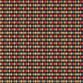 Abstract rhombus pattern. — Stock Vector