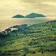 Beautiful seascape in County Kerry - vintage effect. — Stock Photo #61879155