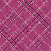 Grungy tartan background for decoration or backdrop. Endless vec — Vettoriale Stock