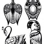 Birds icons — Stock Vector #55036799