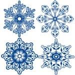 Постер, плакат: Vector Snowflakes