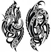 Tattoo design — Stock Vector