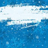 Niebieskim tle boże narodzenie, wektor — Wektor stockowy