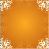 Vector background with decorative ornament — Stock Vector