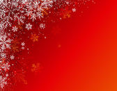 Red christmas background, vector — Stock Vector