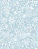 Blue background with snowflakes,  vector  — Stock Vector