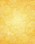 Golden christmas background, vector — Stock Vector