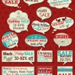 Set of special sale offer labels and banners , vector — Stock Vector #55725661