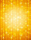 Golden brightnes illustration suitable for christmas or disco ba — Stock Vector