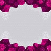 Color valentine background, vector — Stock Vector