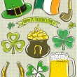 Design elements for  St Patricks Day — Stock Vector #66748321