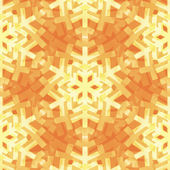 Shiny Gold Light Snowflakes Seamless Pattern for Christmas Desin — Wektor stockowy