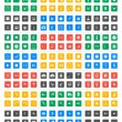 Universal vector icon set - Material Design — Stock Vector #64701213