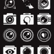 Set of Vector Icons and Logos Photo — Stock Vector #66189343