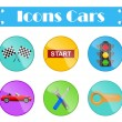 Icons cars — Stock Vector #68425603