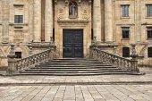 Portal of an ancient monastery — Stock Photo