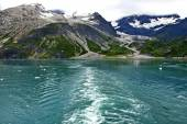 Glacier mountains in Alaska — Foto Stock
