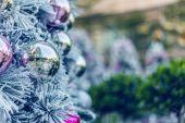 Noel süsleri — Stok fotoğraf
